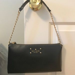 Kate Spade Over the Shoulder Gold Chain Purse